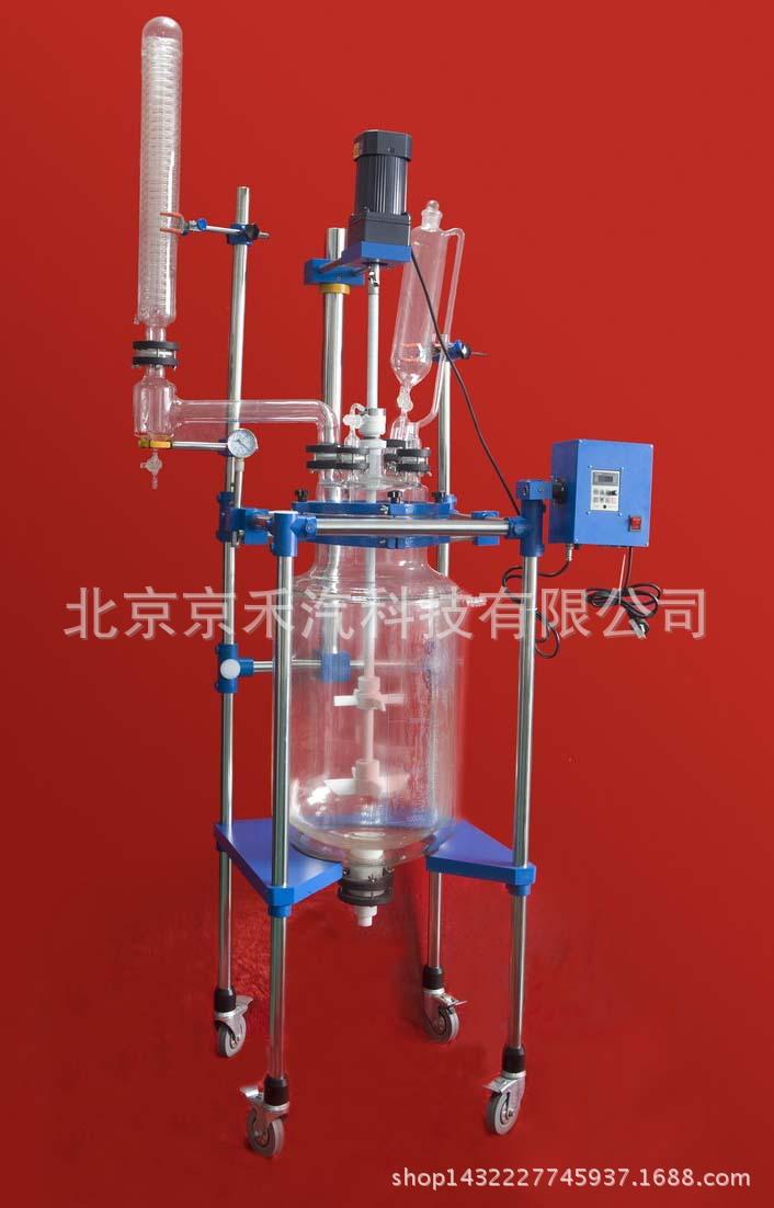 双层玻璃反应釜JR-S30D