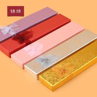 厂家直销 大量现货 珠光纸项链盒 超低价位  批发定做