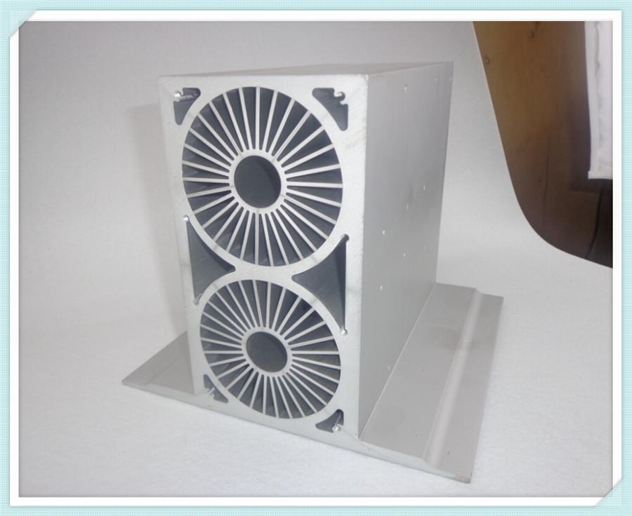 外壳铝型材 电动汽车充电机散热 材质 铝型材挤压加工 阿里巴巴高清图片