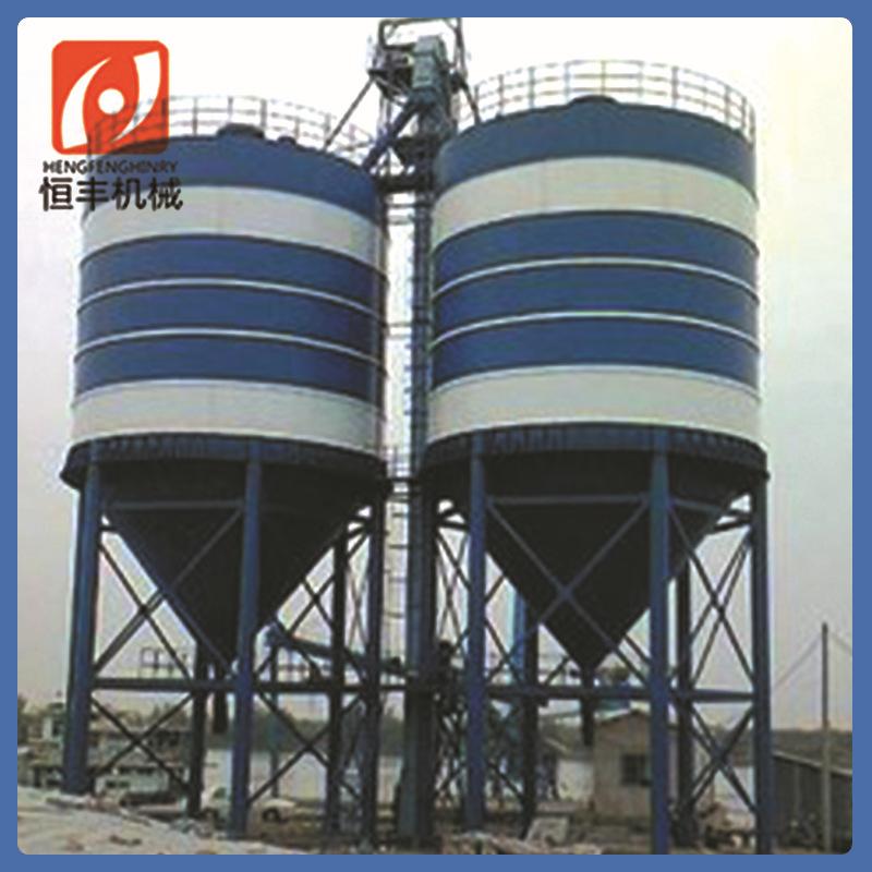 厂家热销 100T散装水泥罐 搅拌站配套设备立式水泥罐