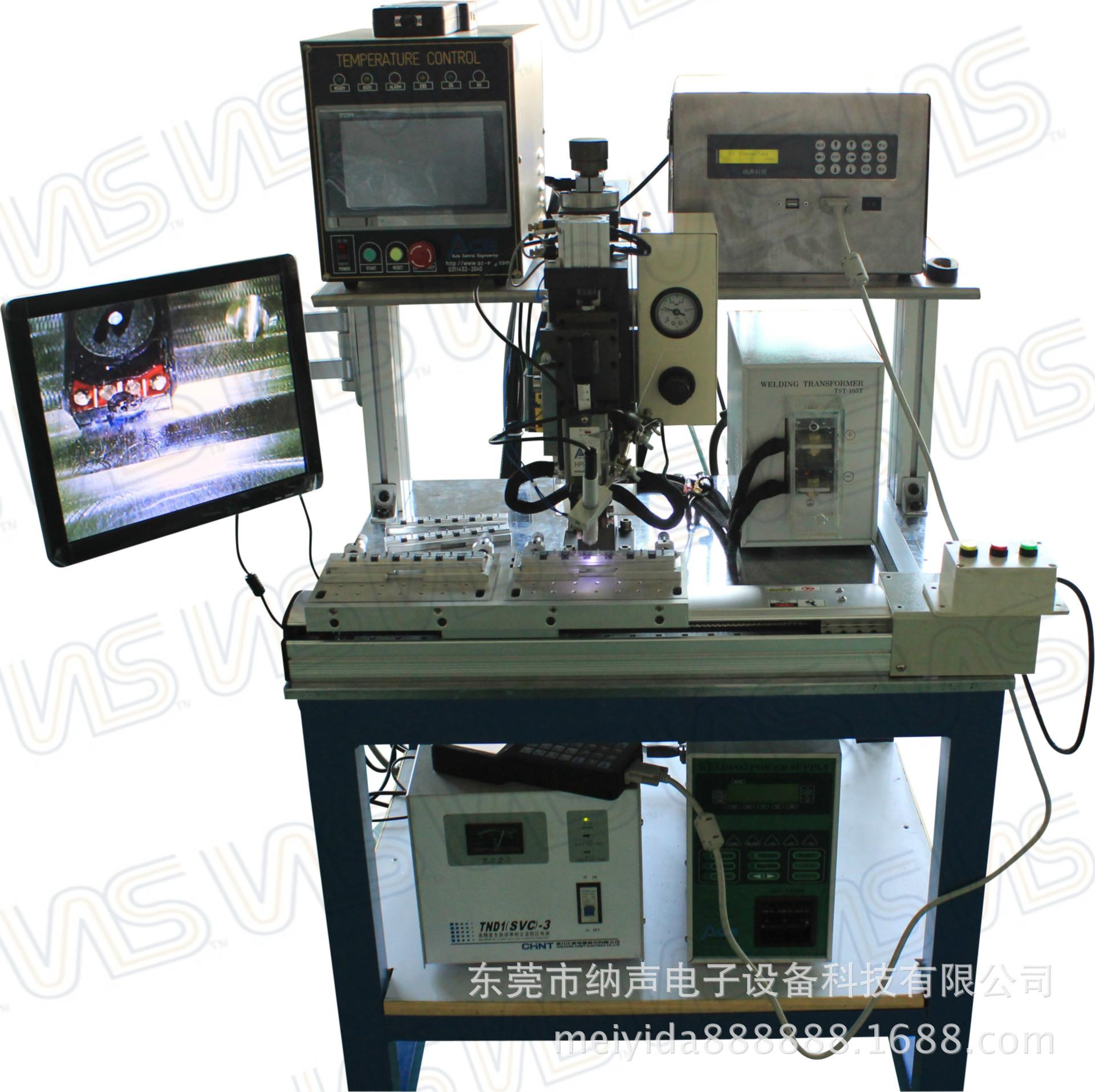 单轴双模自动热熔焊机器人 喇叭引线用金属线焊接 循环工作效率高