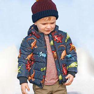 原单外贸童装 n*x*男童棉服 冬季厚16新款儿童保暖外套