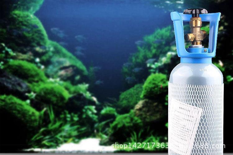鱼缸水族箱二氧化碳套装 CO2钢瓶水草缸CO2发生器高压气瓶2