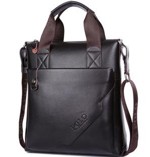 Новый завод розетки бизнес мужчины сумки человек мешок вертикальные стороны мешок плеча Messenger сумка PU кожа сумка