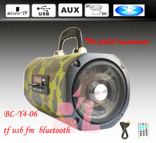 Export trade sound 4 inch portable charging outdoor sound