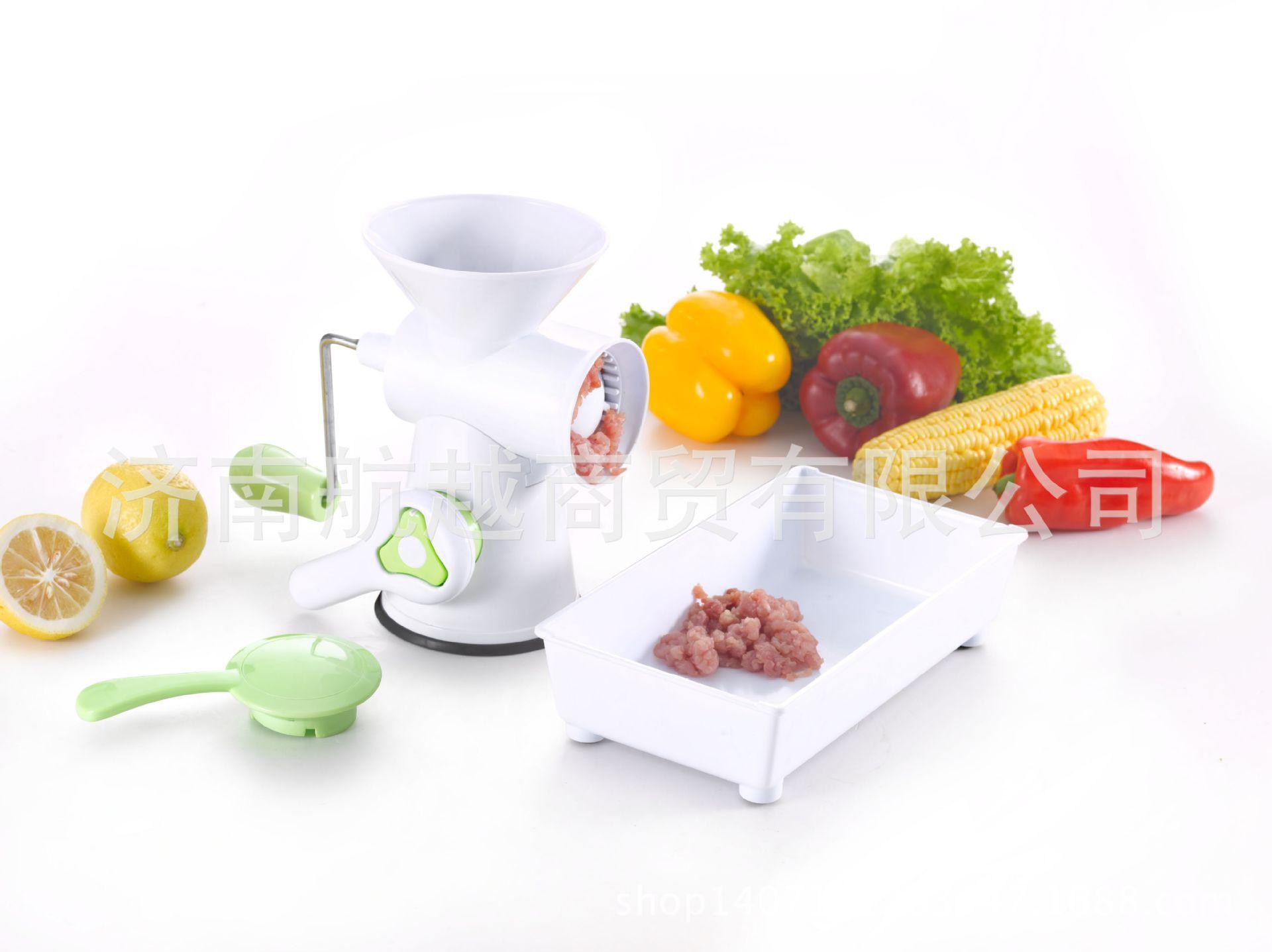 多工能蔬菜处理器A461绞馅机迷你手动绞肉机