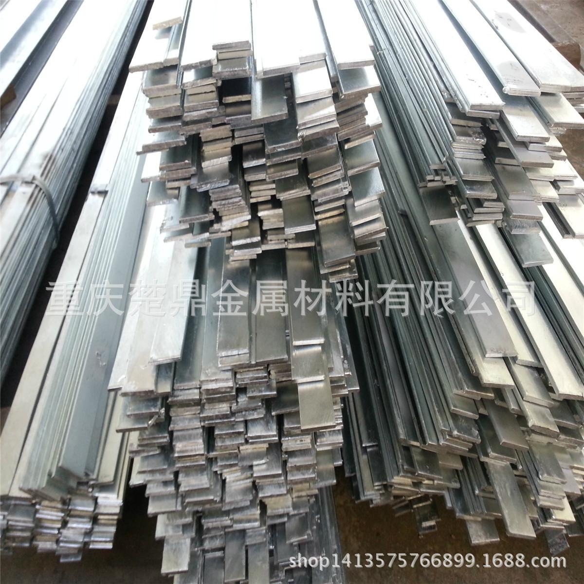 四川不锈钢扁钢规格 q235热镀锌扁钢理论重量