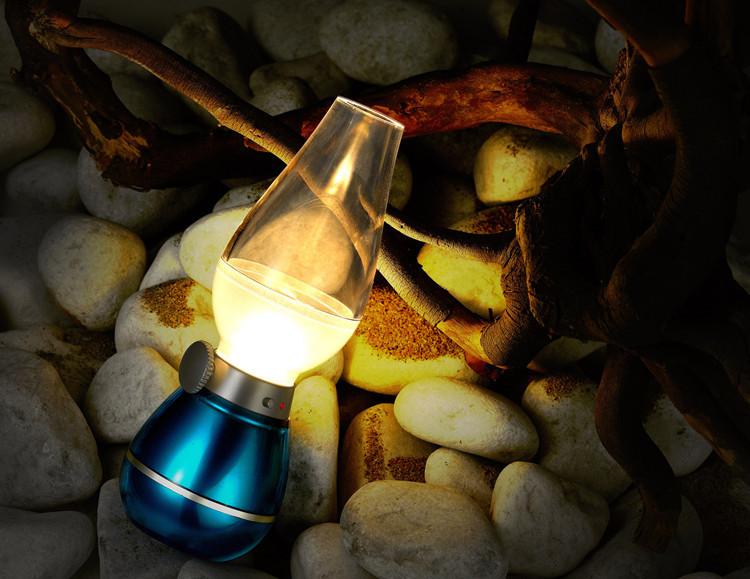 Cây đèn thần thổi là sáng tắt
