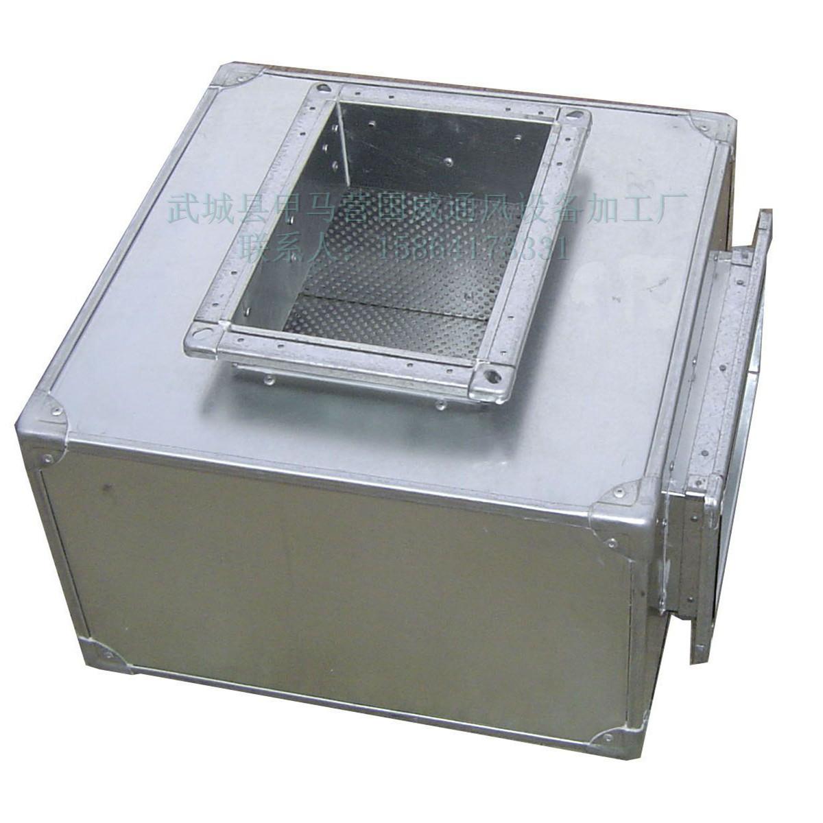 山东厂家***承接微穿孔消声器静压箱及白铁风管的制作安装工程