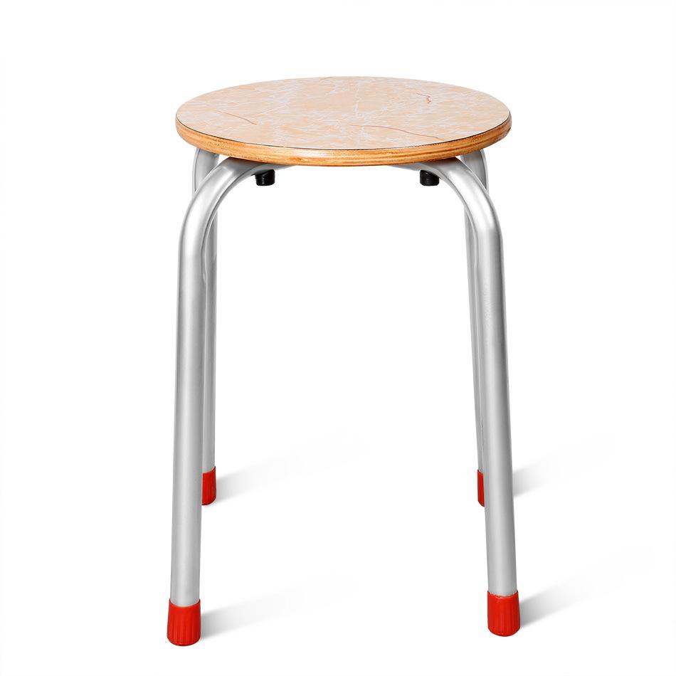 供应 钢制夹板凳 圆木凳 钢管椅 叠放凳 高脚凳 钢管小圆凳