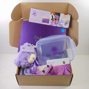定制澳洲薰衣草小熊包装盒 十二件套精美礼品包装盒