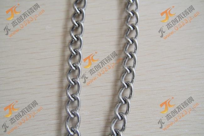 304不锈钢扭链 2.5mm扭链不锈钢扭链厂价直销