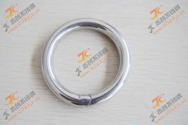 现货供应M8*60 201不锈钢圆环/不锈钢圆圈/圆环/O型环