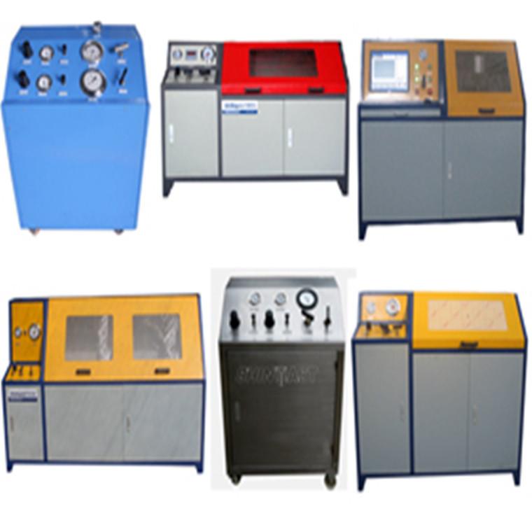 天然气减压阀校验台 仪表阀门静压寿命强度试验台「厂家直