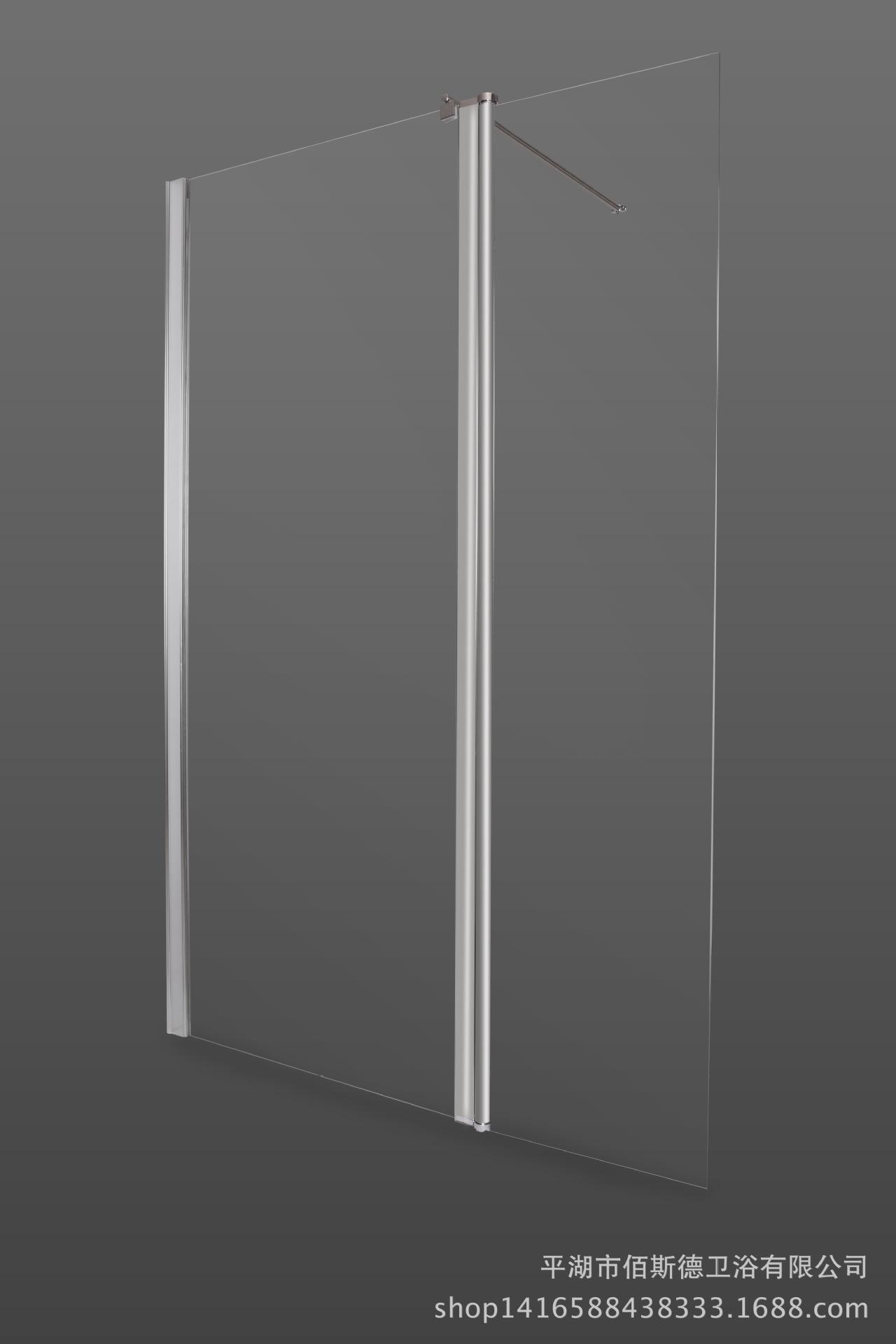 佰斯德屏风淋浴房 钢化玻璃屏风 高档外贸隔断DP-3001直销
