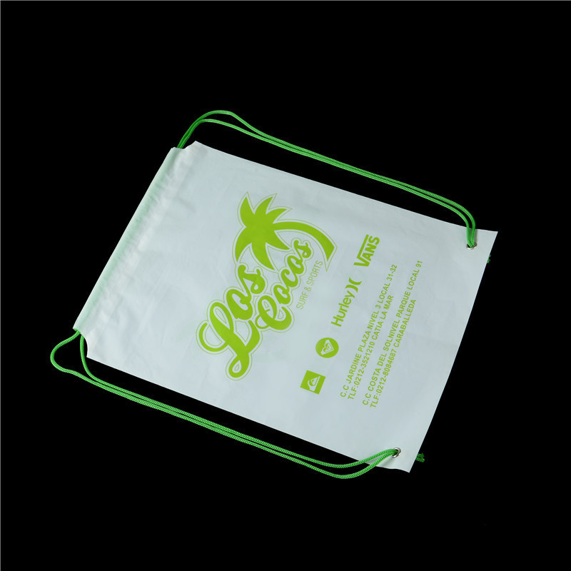 DSC_2837拉绳背包胶袋   材料 PE奶白料 尺寸