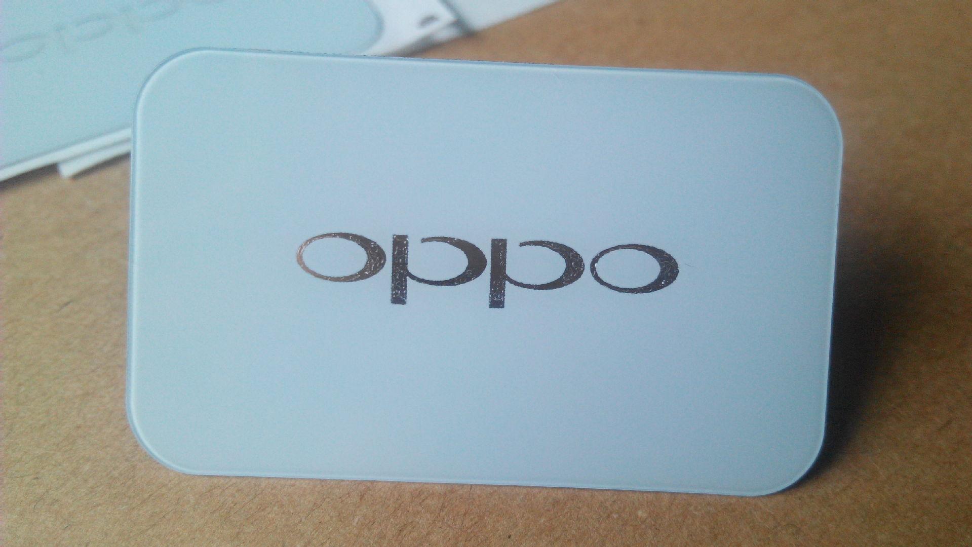 厂家供应环保 OPPO亚克力标牌 pvc铭牌 pc标牌 可定制量大