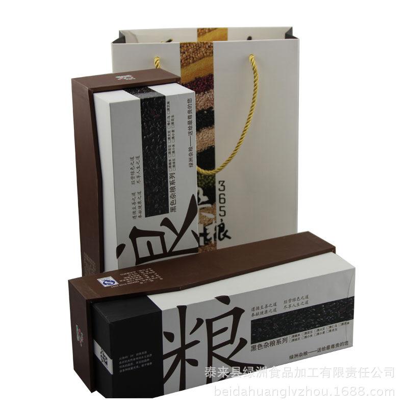 东北特产黑色系列礼盒 黑龙江原生态有机黑小米1800g盒装厂家直销