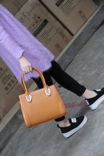 新款女士真皮包单肩斜挎包单肩包时尚手提包潮流女包