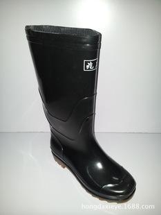 现货供应新款防雨 耐酸 碱高筒雨鞋 牛筋底防滑雨靴