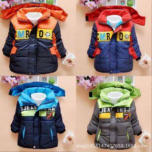 男童棉衣加厚2016新款童装儿童棉袄韩版外套中小童儿童棉衣批发