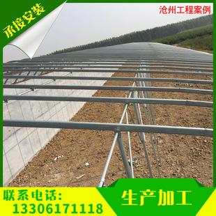 温室大棚 蔬菜大棚 温室花园暖房 镀锌单体温室农业大棚定制 工程