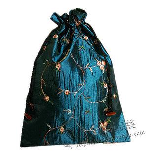 特大号喜字福字定做刺绣LOGO 礼盒礼品收纳包袋 福袋大锦囊束口袋