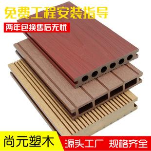 蛟河塑木地板批发价格供应商尚元塑木生产厂家直销