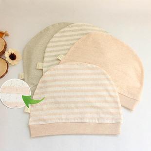 2017夏季新款有机彩棉镂空产妇用月子帽产妇帽超薄透气m12