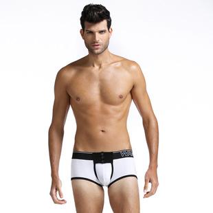 оптовой сети будет WJ мужские трусы бортом дизайн кнопки корсет мужчин брюки поколению жира