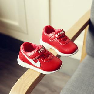 春秋季儿童运动鞋宝宝鞋子软底婴儿学步小童鞋子女童鞋男童鞋批发