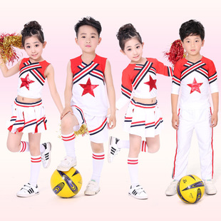 六一儿童节表演服 儿童健美操服装 小学生啦啦队体操服表演服918