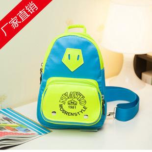 批发爸爸去哪儿同款胸包防水包幼儿园可爱儿童男女包包韩国卡通包