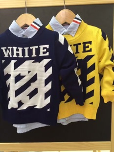 童毛衣针织衫韩版秋冬童毛衣批发中小童针织衫GOGOLI品牌