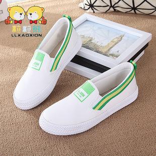 детская обувь поколению жира женщина большой детей Faye Wong 2016 весной в том же пункте герметичности ленивый обувь корейский прилив детская обувь