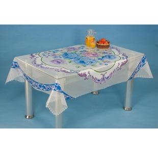 批发新款防水防油透明餐桌布 PVC水晶方桌台布 热卖塑料免洗桌布