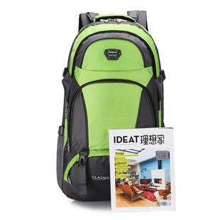 рюкзак, мужчин и женщин, поездки большой рюкзак открытый спортивный пакет поездки большой потенциал многофункциональный водонепроницаемый пакет практических альпинизма