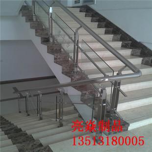 河北安平亮焱专业生产定做不锈钢护栏,楼梯,桥梁护栏