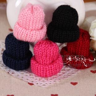 针线毛线帽子装饰手工DIY韩国卡通发饰配件 儿童发圈发夹装饰材料
