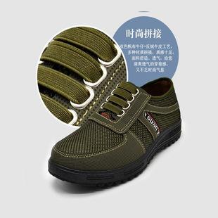 男款秋款新款老北京布鞋注塑四根筋休闲鞋一脚蹬懒人鞋爸爸鞋布鞋