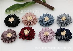 韩版手工精美小雏菊DIY发饰.鞋花.胸花材料配件
