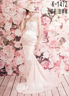 孕妇拍照纱裙服装摄影写真服饰性感蕾丝纱裙仙儿唯美影楼孕照衣服
