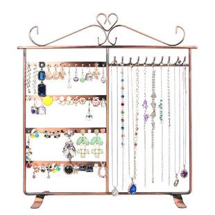 创意首饰展示架 铁艺饰品收纳展示道具发箍架项链架手链架