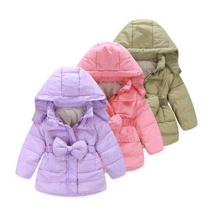 新款时尚精致女童可爱外出加厚保暖纯棉简约百搭休闲潮款外套