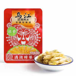 乌江涪陵榨菜清香味【清淡榨菜】80g80g/包单包