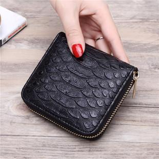 Сплошной цвет новых высококачественных сладкий крокодил молния дамы кошелек, г - жа короткий ключ пакет бумажник бумажник