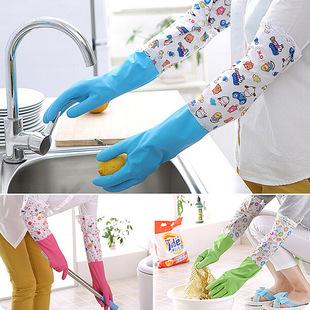 прочного латекса резиновые перчатки на дому кухня посуду мыть посуду мыть резиновые перчатки, одежду чистой