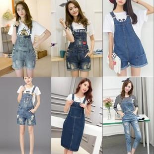 2017 дамы разные пункта продажи запасов джинсовая юбка джинсовая расчистки запас дамы разные комбинезон для обработки.