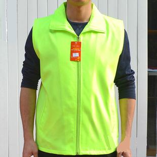 志愿者马甲高档双层复合料义工超市工作服背心厂家批量生产定制