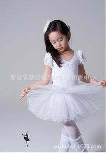 2016新款少儿童舞蹈服装芭蕾舞裙蓬蓬纱裙女童练功服演出服